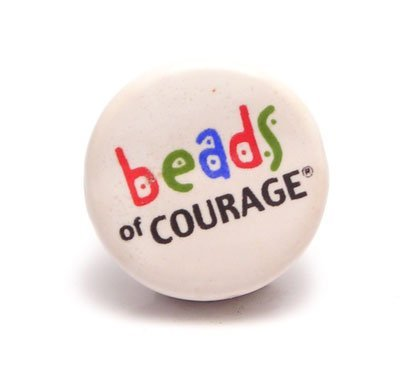 Beads of Courage logo ceramic bead